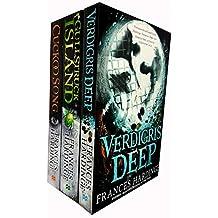 Frances hardinge collection 3 books set (verdigris deep, gullstruck island, cuckoo song)