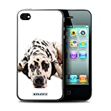 Stuff4 Coque de Coque pour Apple iPhone 4/4S / Dalmatien Design/Chiens Collection