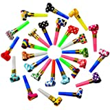 Sandbox Party Whistle Blowouts Multi Color (Pack of 50)