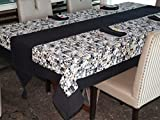 Lushomes Coins Printed 6 Seater Small Ta...
