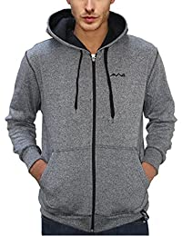 AWG - All Weather Gear Men's Melange Grindle Sweatshirt with Zip