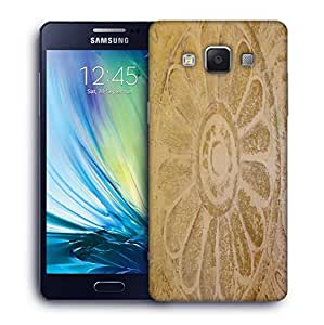 Snoogg Circle In Sand Printed Protective Phone Back Case Cover For Samsung Galaxy A5