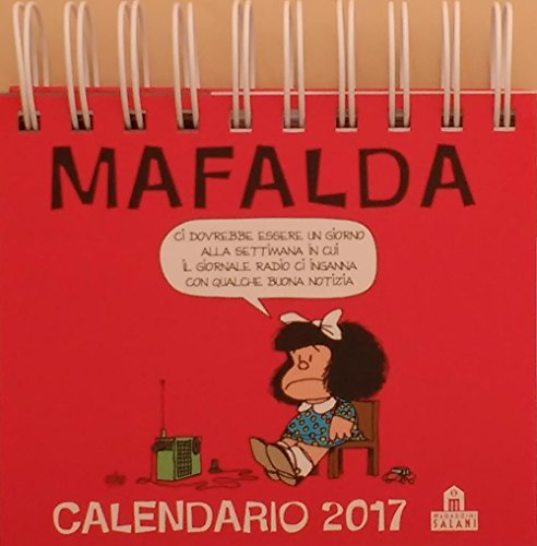 Mafalda. Calendario da tavolo 2017