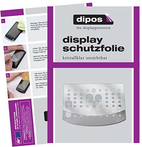 DeLonghi Magnifica S ECAM 22.110 + 21.117 + 21.116 Schutzfolie - 3x dipos Displayschutzfolie Folie...