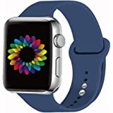 Kueh Compatible for Apple Watch Band 38mm/40mm 42mm/44mm Sport Band for Women&Men. Strap Compatible for iWatch Series 5/4/3/2