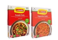 LAMEALO Combo - Punjabi Chole + Vegetable Kadhai (Pack of 2) 300g each