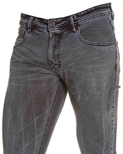 BLZ jeans - Jean Grey bedeutende Grund Auswaschung Grau