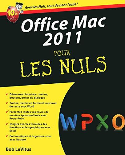 Office 2011 Mac Pour les nuls par Bob LEVITUS