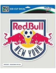 SOCCER New York Red Bulls Perfect Cut Color Decal, 8 x 8 by WinCraft