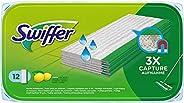 Swiffer Lingettes Humides pour Balai Attrape-Poussière pour Sol, 12 Lingettes