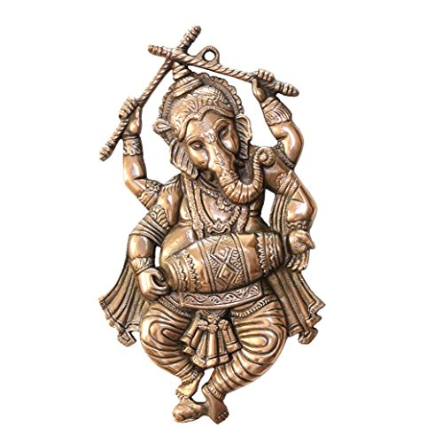 apkamart lord ganesh wall hanging - dancing pose - 18 inch height - wall showpiece for wall decor, room decor, home decor and gifts APKAMART Lord Ganesh Wall Hanging – Dancing Pose – 18 Inch Height – Wall Showpiece for Wall Decor, Room Decor, Home Decor and Gifts 512WimY3 fL