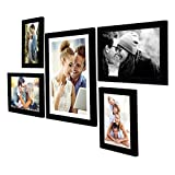 Best Gifts & Decor Friend Frame Two Pictures - Art Street - Set of 5 Individual Black Review