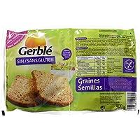 Gerblé - Pan con semillas de lino, girasol y sésamo, sin gluten -  - 400 g - [Pack de 3]