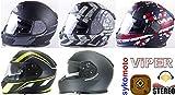 Viper nuevo RS V8estéreo RAZR Integral casco moto casco de hombre y mujer