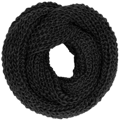 CASPAR - Écharpe tube chaude pour femme - épurée et élégante - plusieurs coloris - SC242