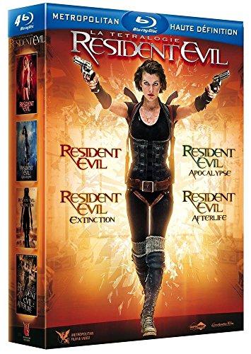 Coffret intégrale Resident evil - 4 films [Blu-ray]
