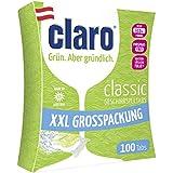 Claro Classic XXL - 100 Pastillas Ecológicas Sin Fosfatos Para Lavavajillas En Paquete Ahorro