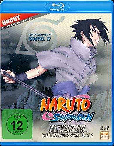 Naruto Shippuden - Der vierte große Shinobi Weltkrieg - Die Rückkehr von Team 7 - Staffel 17: Folgen 582-592 - Uncut [Blu-ray] (Naruto Shippuden Anime)