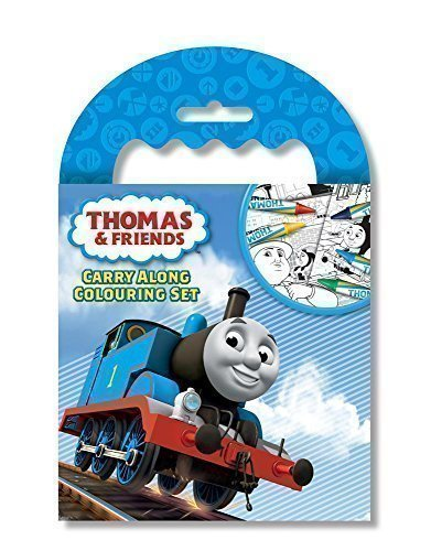 Thomas The Tank & Friends Mini Sketch Book Set Colouring Party Bag Fillers Gift by The Home Fusion Company