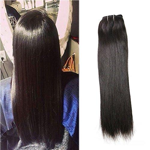120 Gram Remy Clip in Haarverlängerung Seidiges glattes Haar Natürliche Farbe für Schwarze Frauen Vollen Kopf Clip auf Menschliches Haar Extensions Haar Echthaar