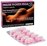 Desire Women pills 10 Kapseln - Aphrodisiakum für Wunsch, Libido und Lust Frauen