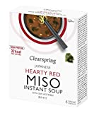 Clearspring | Hearty Red Miso Soup + Sea Veg | 1 x 4x10g