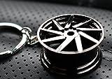 Felge Black-Chrom #79 Schlüsselanhänger - massiver Anhänger - von VmG-Store OEM VAG DUB