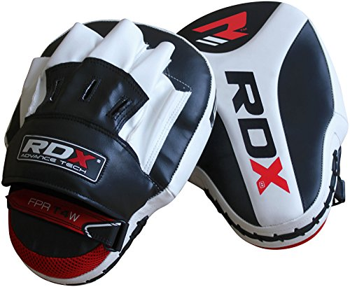 RDX Boxing Focus Mitts Punching Hook & Jab Pads MMA Training Punch Target Thai Strike Kick Shield