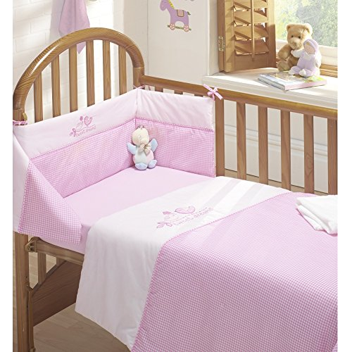 Tweet Dreams 3pc Cot Bed Bale - Quilt,, Bumper Fitted Sheet by Tony's Textiles