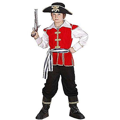 Widmann-WDM74547 Kostüm für Mädchen, Weiß Rot Schwarz, ()