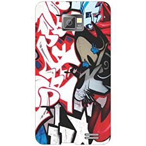 Samsung Galaxy S2 mixed Phone Cover - Matte Finish Phone Cover
