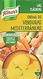 Knorr - Crema Verduras Mediterráneas 1000 ml - Pack de 4 (Total 4000 ml)