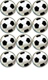 12 Fußball reispapier cupcake toppers 40mm Dekoration von Simply Topps