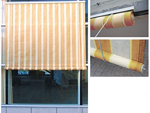Tende Per Esterni A Rullo : Homegarden tende da sole con rullo per esterno cm