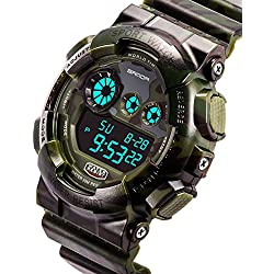 Men's waterproof and shockproof watches/Multifunction Watches/ leisure sports electronic watch-B
