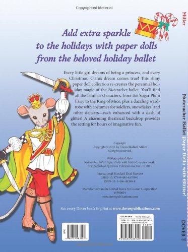 Nutcracker Ballet Paper Dolls: With Glitter! (Dover Paper Dolls)