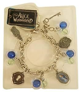 Monogram Int. - Alice au pays des merveilles porte-clés breloques Alice Bleu