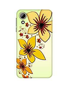 Mobifry Back case cover for HTC Desire 828 Mobile ( Printed design)