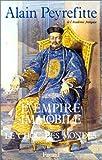 Telecharger Livres L Empire immobile ou le choc des mondes (PDF,EPUB,MOBI) gratuits en Francaise