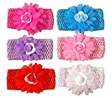 Best Accessories For Newborn Girls - Baby Station Baby Premium Quality Girls Elastic Hairb Review