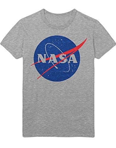 T-Shirt NASA Interstellar Galaxy Astronaut Space Hipster Dreieck Triangle Noir Nebula Sterne H970011 Grau (Kostüm Nebula Space)