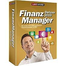 Lexware FinanzManager Deluxe 2019 Box, Einfache Buchhaltungs-Software für private Finanzen & Wertpapier-Handel, Kompatibel mit Windows 7 oder aktueller