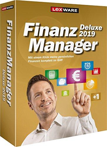 Lexware FinanzManager Deluxe 2019 Box | Einfache Buchhaltungs-Software für private Finanzen & Wertpapier-Handel | Kompatibel mit Windows 7 oder aktueller