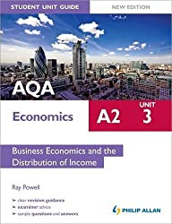 AQA A2 Economics Student Unit Guide New Edition: Unit 3 Business Economics and the Distribution of Income