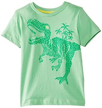 ESPRIT Boys Dino T-Shirt, Space Green, 4 Years (Manufacturer Size:104+ cm)