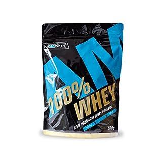 AMSPORT® High Premium Whey Protein 500 g Zippbeutel Vanille