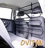 OVITAN Hundegitter fürs Auto 8 Streben universal zur Befestigung an den Kopfstützen der Vordersitze – für alle Automarken geeignet – Modell: V08 - 2