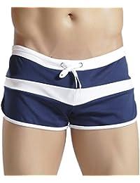 Hawiton Atractivos Transpirable Bañador de Natación Boxeador Pantalones Trajes de Baño Cortos Hombre De Playa Piscina Bañadores