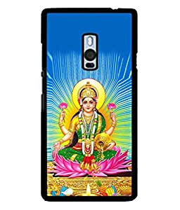 PrintVisa Designer Back Case Cover for OnePlus 2 :: OnePlus Two :: One Plus 2 (Maa Laxmi Dhan aishwariya ki devi)