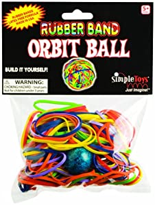Toysmith 444700 - Band Rubber Ball Importado de Alemania